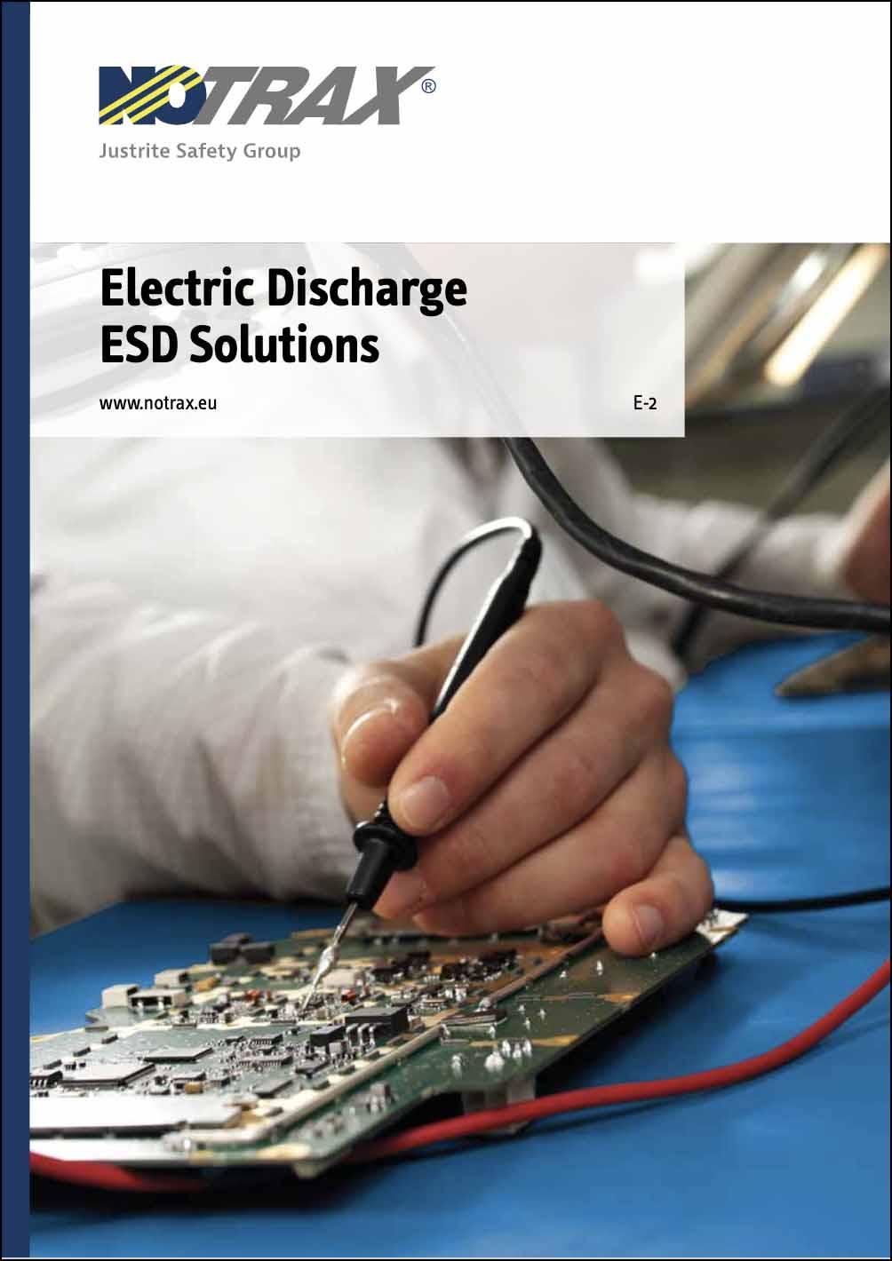 Catalog soluții ESD cu descărcare electrostatică